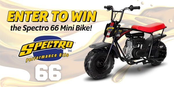 Spectro Performance Oils Giveaway