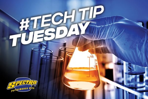 #TechTipTuesday by Spectro Performance Oils